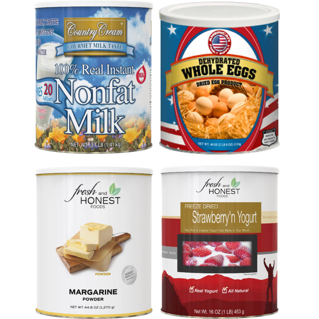 Dairy Products Combo 4 Pack - Fresh and Honest Foods